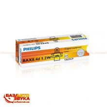 Лампа накаливания Philips 12625CP BAX BX8,4d Black (1шт.), Фото 2
