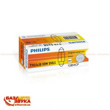 Лампа накаливания Philips 12854CP Festoon T10,5X38 (1шт.), Фото 2