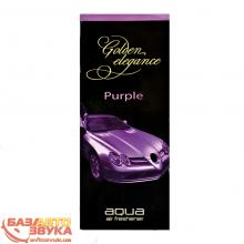 Ароматизатор AQUA EM-057 Golden-Purple