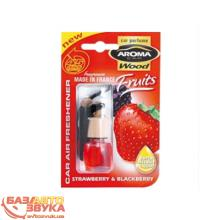 Ароматизатор Aroma Car 317 Wood - STRAWBERRY BLACKBERRY 6мл