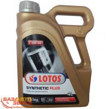 Моторное масло LOTOS Synthetic Plus 5W-40 SN/CF 4л