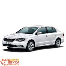 Брызговики NOVLINE SKODA SUPERB 2013- сед. EXP.NLF.45.11.E10, Фото 2