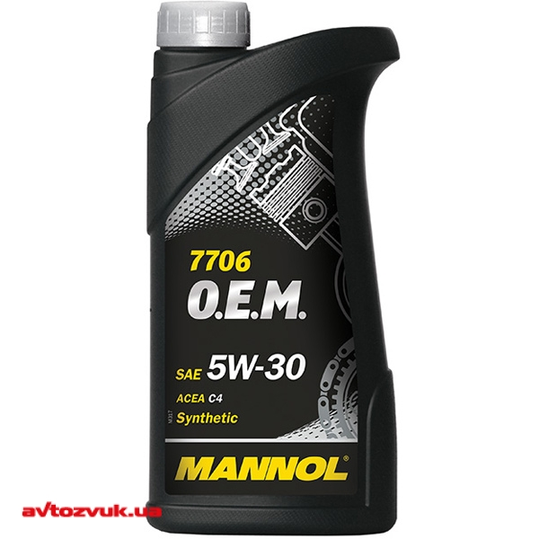 Моторное масло MANNOL O.E.M. for Renault Nissan 5W-30 7706 1л