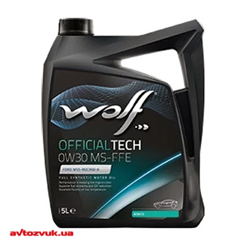 Моторное масло WOLF OFFICIALTECH 0W-30 MS-FFE 5л