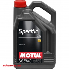 Моторное масло MOTUL SPECIFIC LL-04 5W40 832706 5л