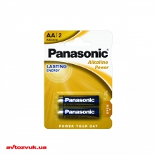 Батарейки Panasonic ALKALINE POWER AA BLI 2 LR6REB/2BP 2шт./уп.: Купить за 18 грн