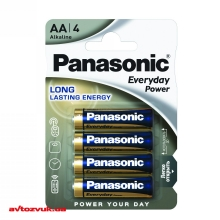 Батарейки Panasonic EVERYDAY POWER ALKALINE AA BLI 4 LR6REE/4BR 4шт./уп.: Купить за 42 грн