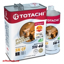 Моторное масло Totachi Grand Touring 5W-40 Акция! 4+1л