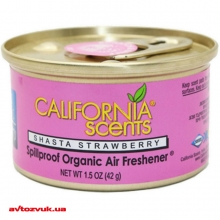 Ароматизатор CALIFORNIA SCENTS Spillproof Organic Air Freshener Shasta Strawberry 42г: Купить за 99 грн