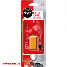 Ароматизатор Aroma Car Credit Card Red Fruits 405 4мл: Купить за 49 грн
