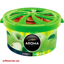 Ароматизатор Aroma Car Organic Green Apple 560/92101 40г: Купить за 65 грн
