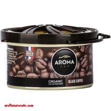 Ароматизатор Aroma Car Organic Black Coffee 561/92102 40г: Купить за 59 грн