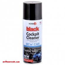 Полироль пластика NOWAX Black Cockpit Cleaner новая машина NX00455 450мл: Купить за 56 грн