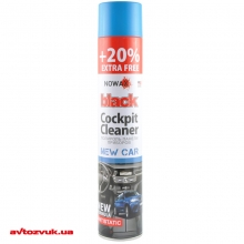 Полироль пластика NOWAX Bkack Cockpit Cleaner новая машина NX00705 750мл: Купить за 74 грн