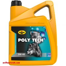 Моторное масло KROON OIL POLY TECH 5W-40 5л