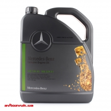 Моторное масло Mercedes-benz Synthetic Engine Oil Service 5W-30 229.51 A000989940213ALEE 5л: Купить за 1194 грн