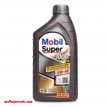 Моторное масло MOBIL Super 3000 X1 5W-40 1л