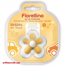 Ароматизатор Mr&Mrs Fragrance FIORELLINO BLISTER CAR FRESHENER YELLOW BLACK ORCHID: Купить за 168 грн