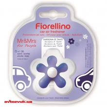 Ароматизатор Mr&Mrs Fragrance FIORELLINO BLISTER CAR FRESHENER  BLUE GARDENIA OF TAHITI: Купить за 168 грн